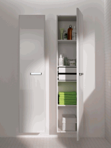 praktyczne szafki łazienkowe