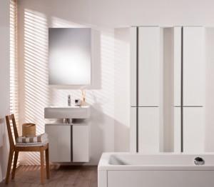 biała aranżacja łazienki