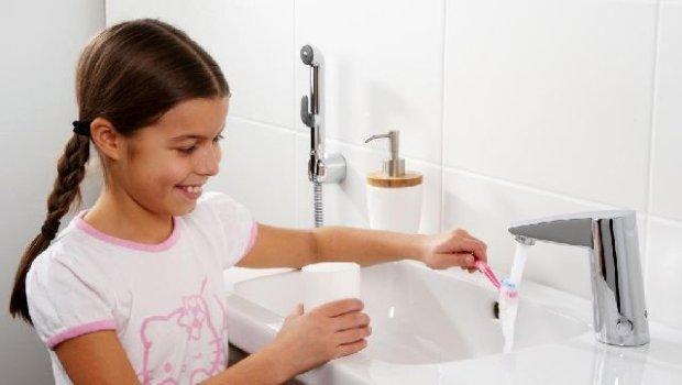 Baterie bezdotykowe, czyli jak namówić dziecko do mycia rąk