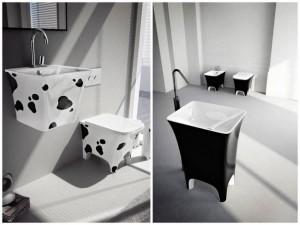 łaciata łazienka
