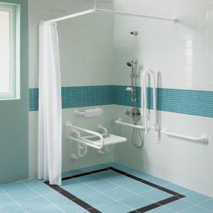 prysznic dla niepełnosprawnych