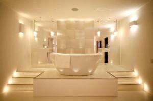 Magiczny nastrój w łazience
