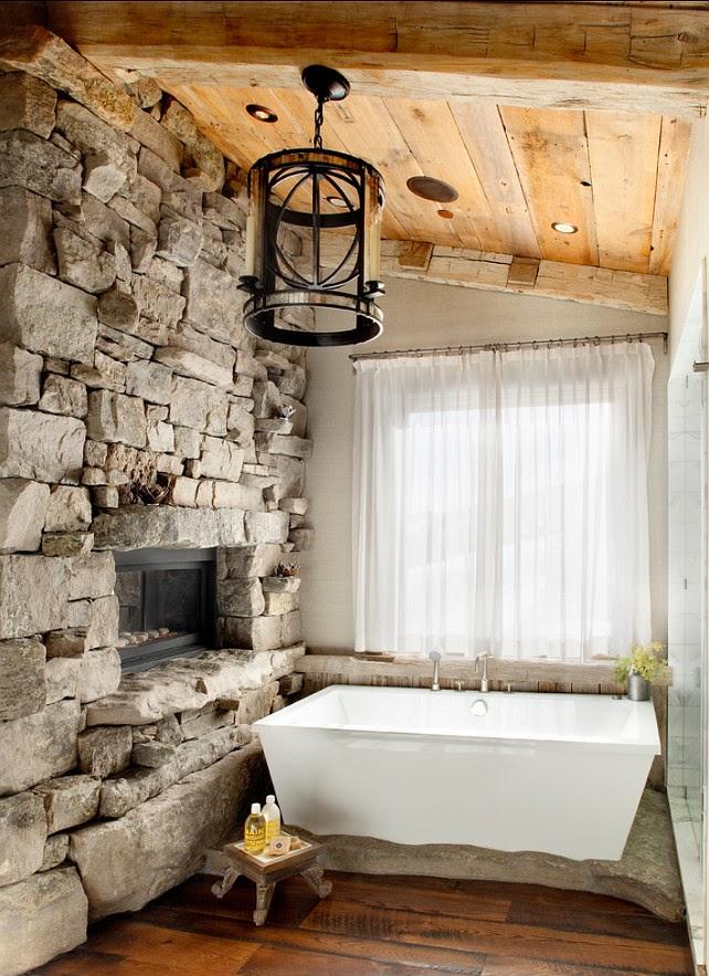 Pomysły Na łazienkowe ściany Kamień Porady I Inspiracje
