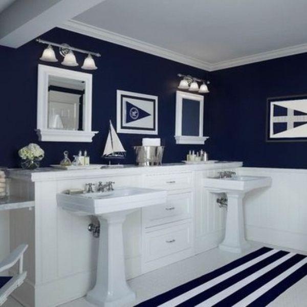 Styl Marynarski W łazience Porady I Inspiracje łazienki W Domu