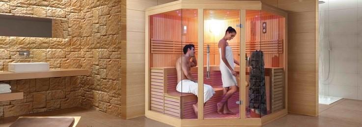 Kabina prysznicowa z łaźnią parową