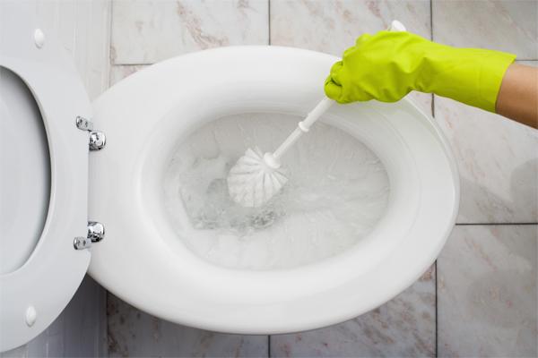 czystość łazienki