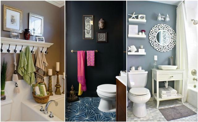 Nowoczesne dekoracje do łazienki