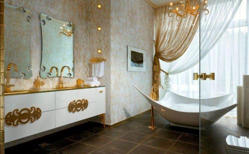 luksusowa łazienka