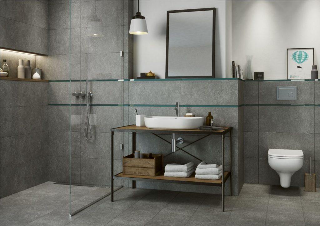 industrialne meble łazienkowe