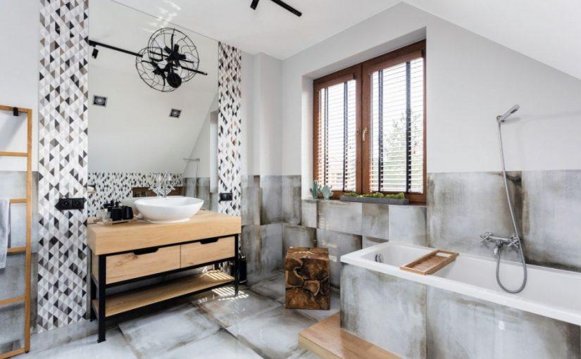 Łazienka w stylu loft okiem Polaków