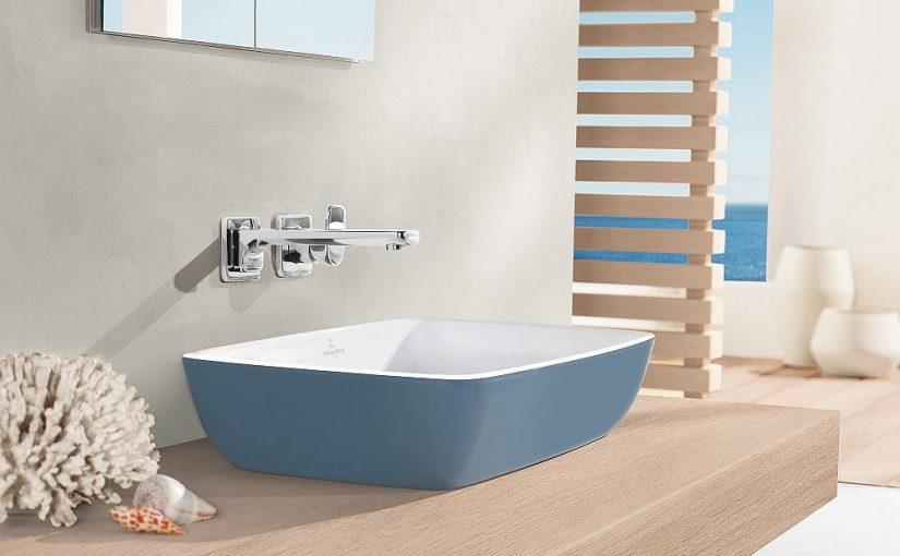 Kolorowe umywalki do łazienki – hit czy kit?