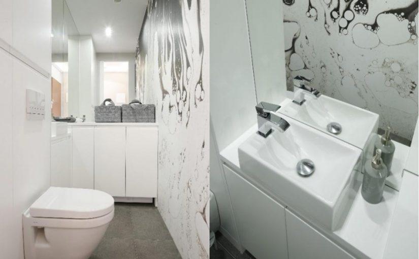 Mała łazienka nie musi być nudna!