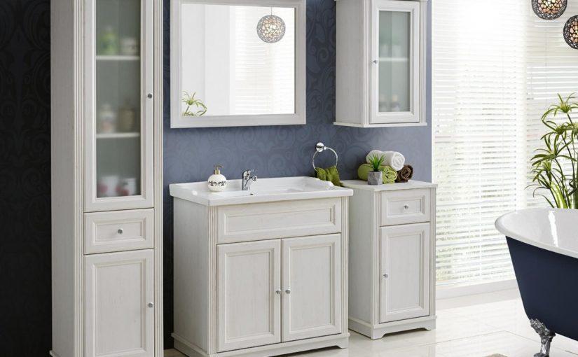 Klasyczna łazienka – jakie dobrać do niej meble?