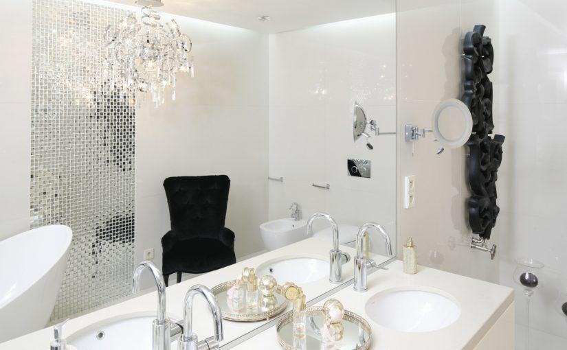 Elegancka łazienka nie musi być droga