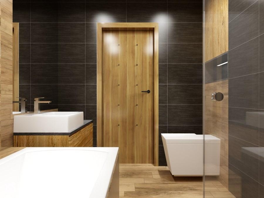 drzwi do łazienki
